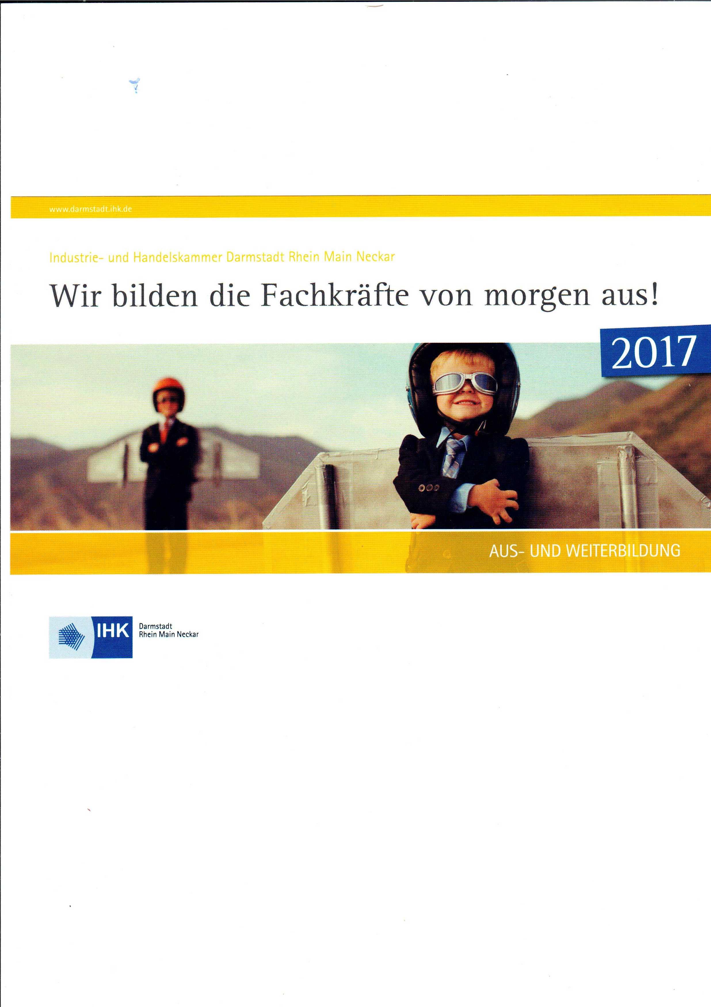 Ausbildungsbetrieb 2017 Aufkleber